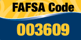 Financial Aid FAFSA Code