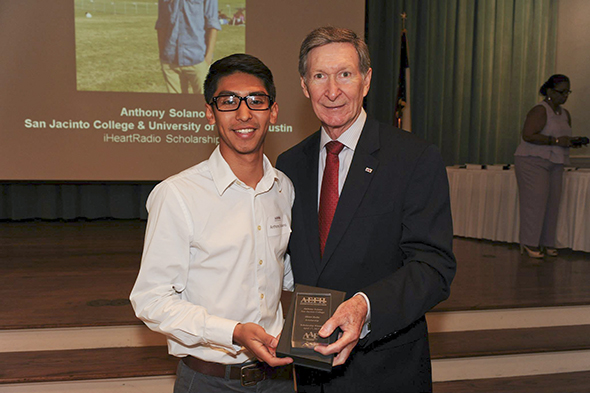 Solano receives iHeartRadio scholarship