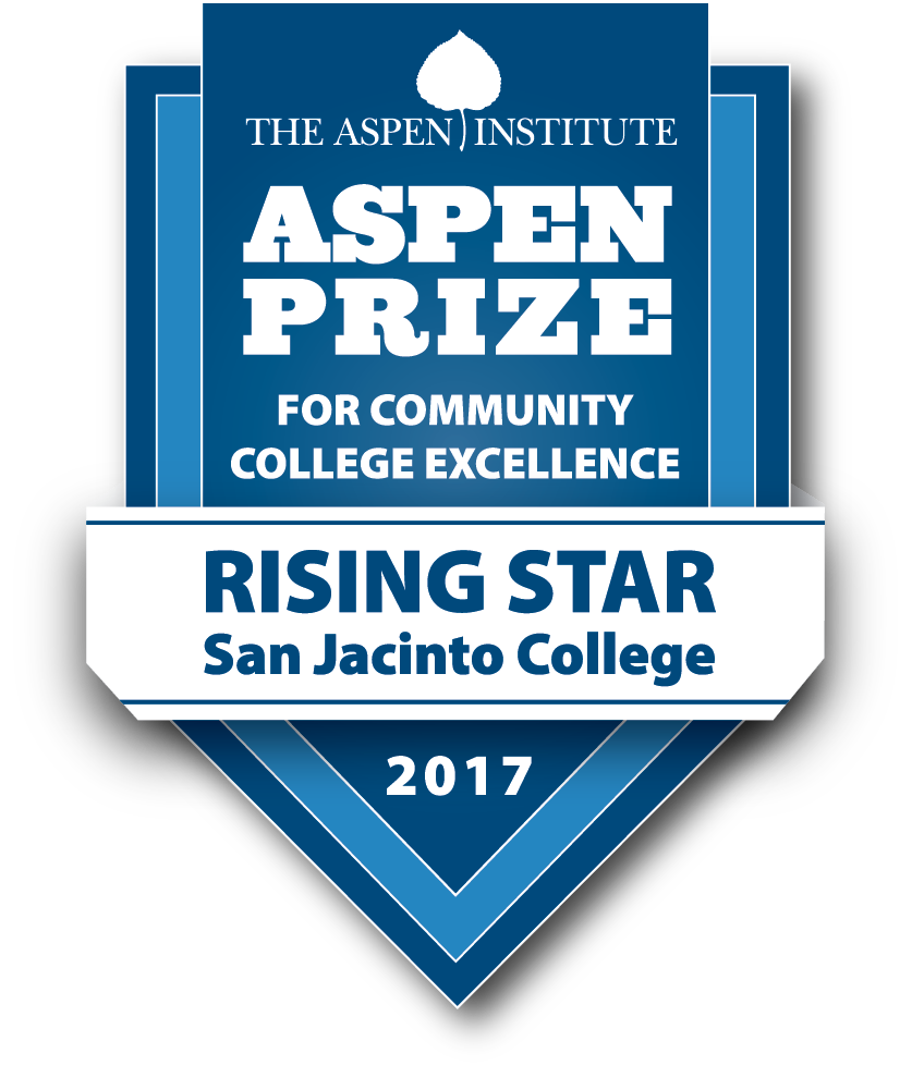 logo of 2017 Aspen Institute Rising Star Award Winner San Jacinto College