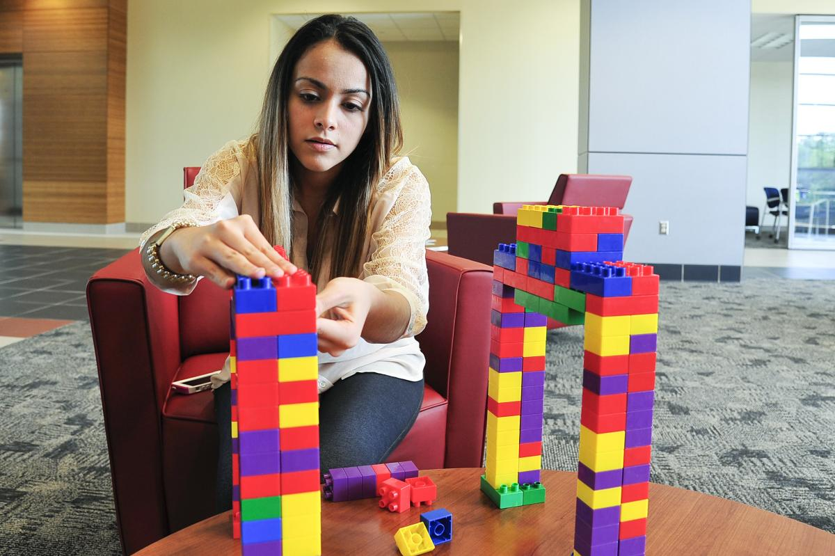 Student Spotlight: civil engineering student fascinated by structures