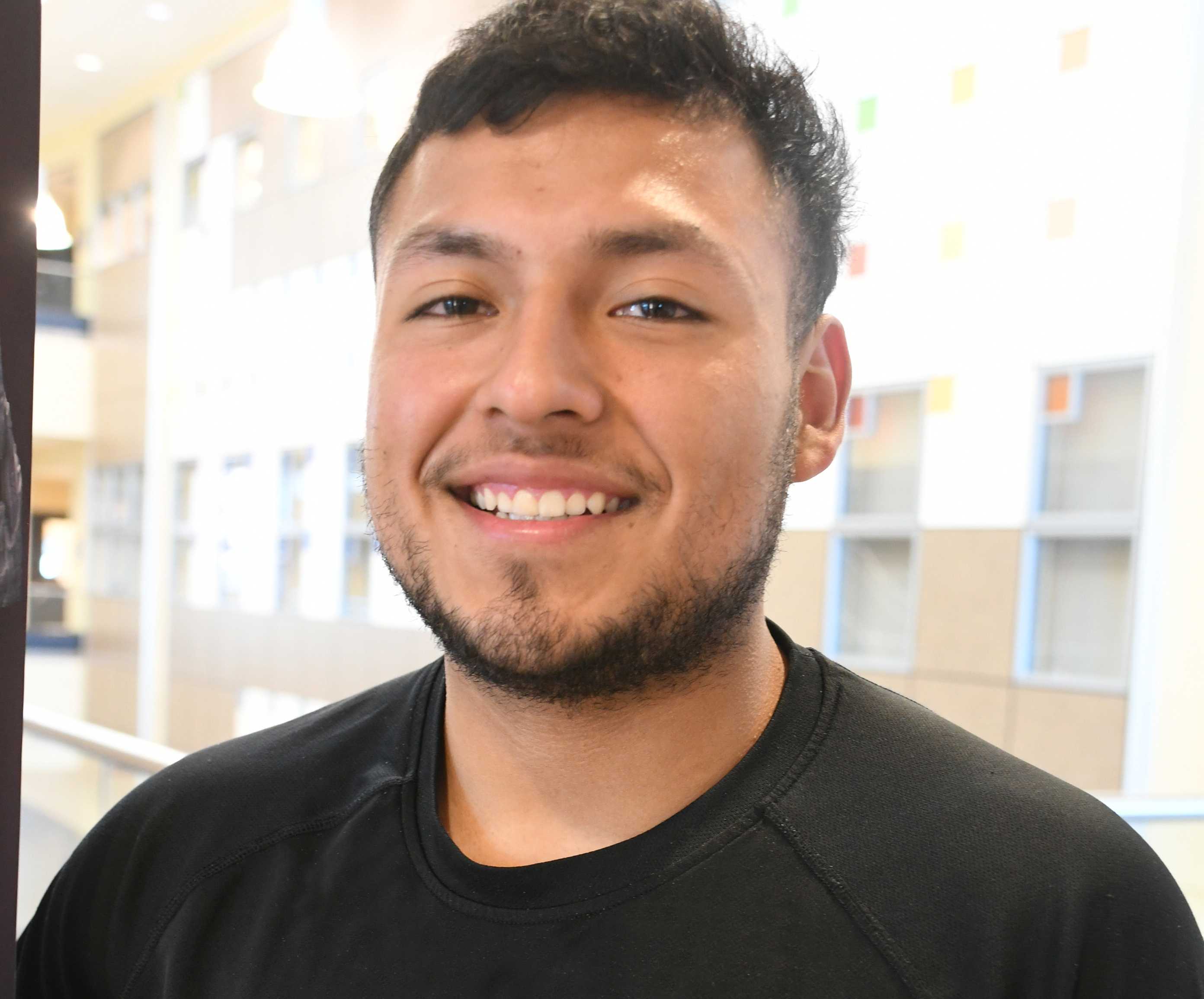 From football to space exploration, student eyes career with NASA