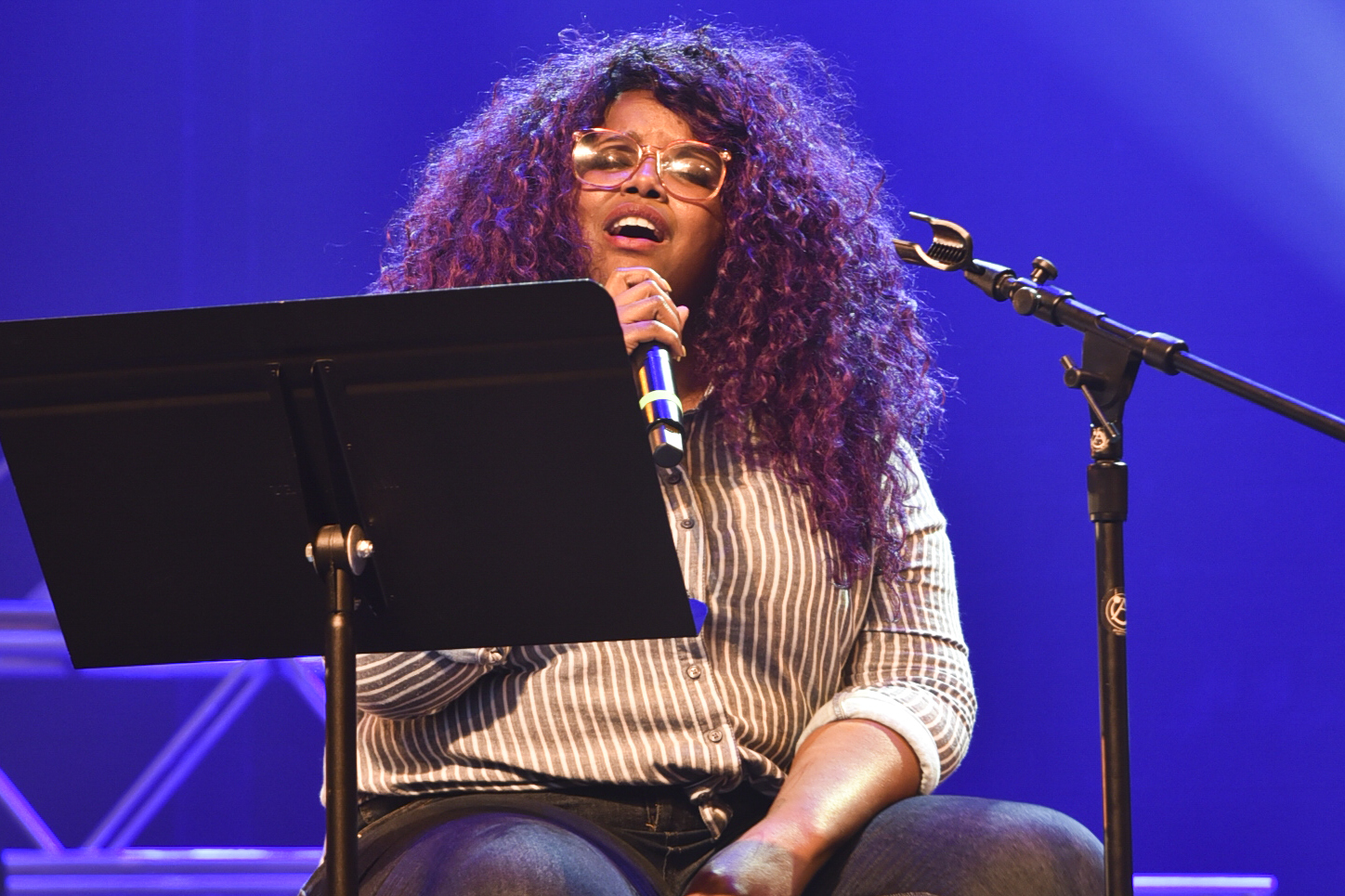 College hosts The Suffers' Kam Franklin for special event
