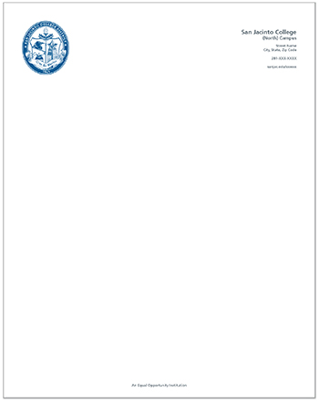 graphic standards seal letterhead