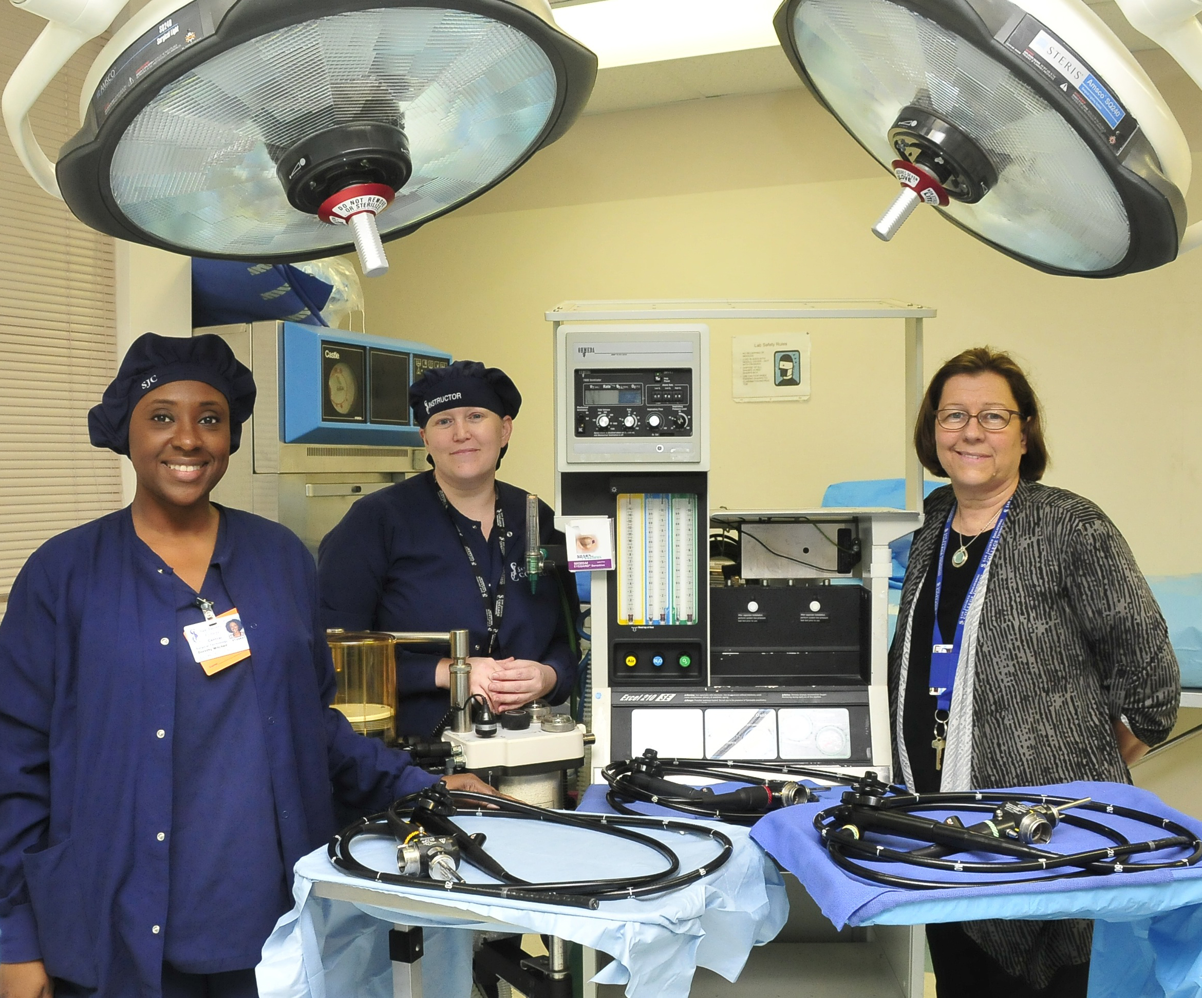Surgical tech program OR receives much-needed equipment thanks to Bayshore Medical Center