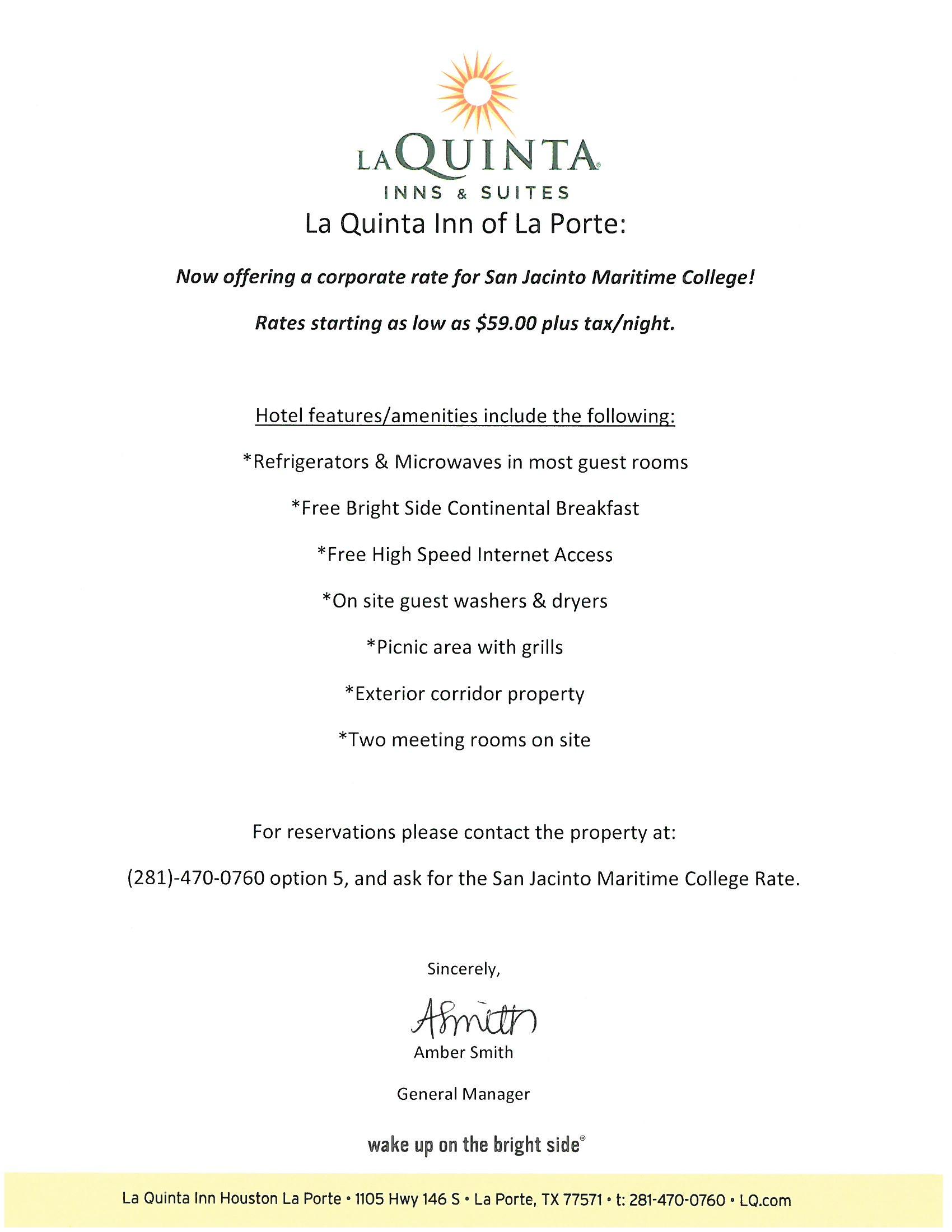 La Quinta Flyer