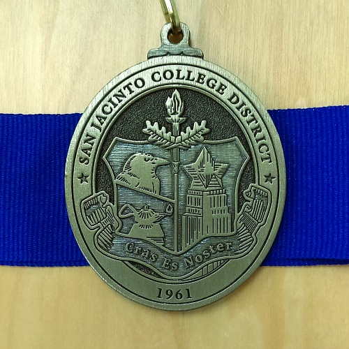 Honors Program medal front