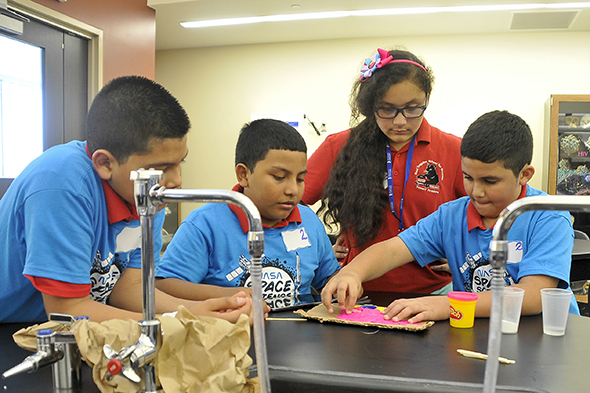 Breaking down barriers: College continues to make STEM tangible