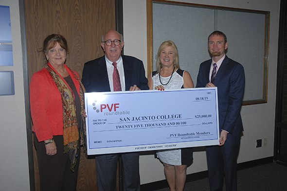 PVF Roundtable donates $25,000 toward pipefitting scholarships