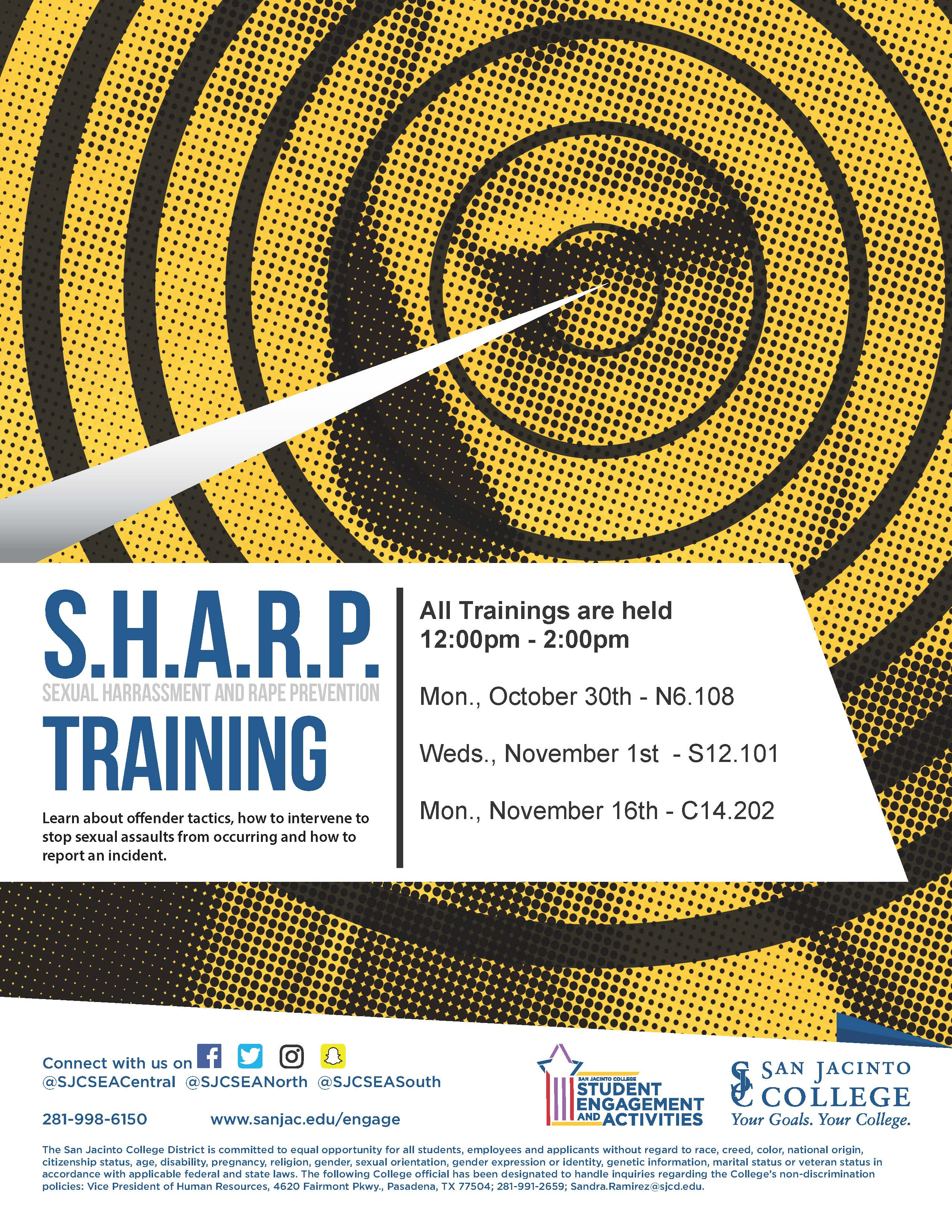 Sharp Fall Trainings
