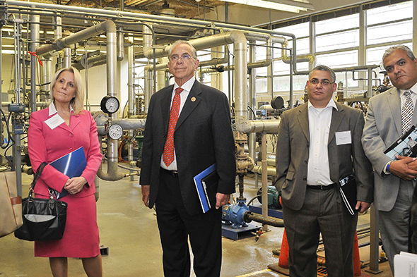 Congressman Hinojosa, San Jacinto College discuss workforce training programs and industry partnerships
