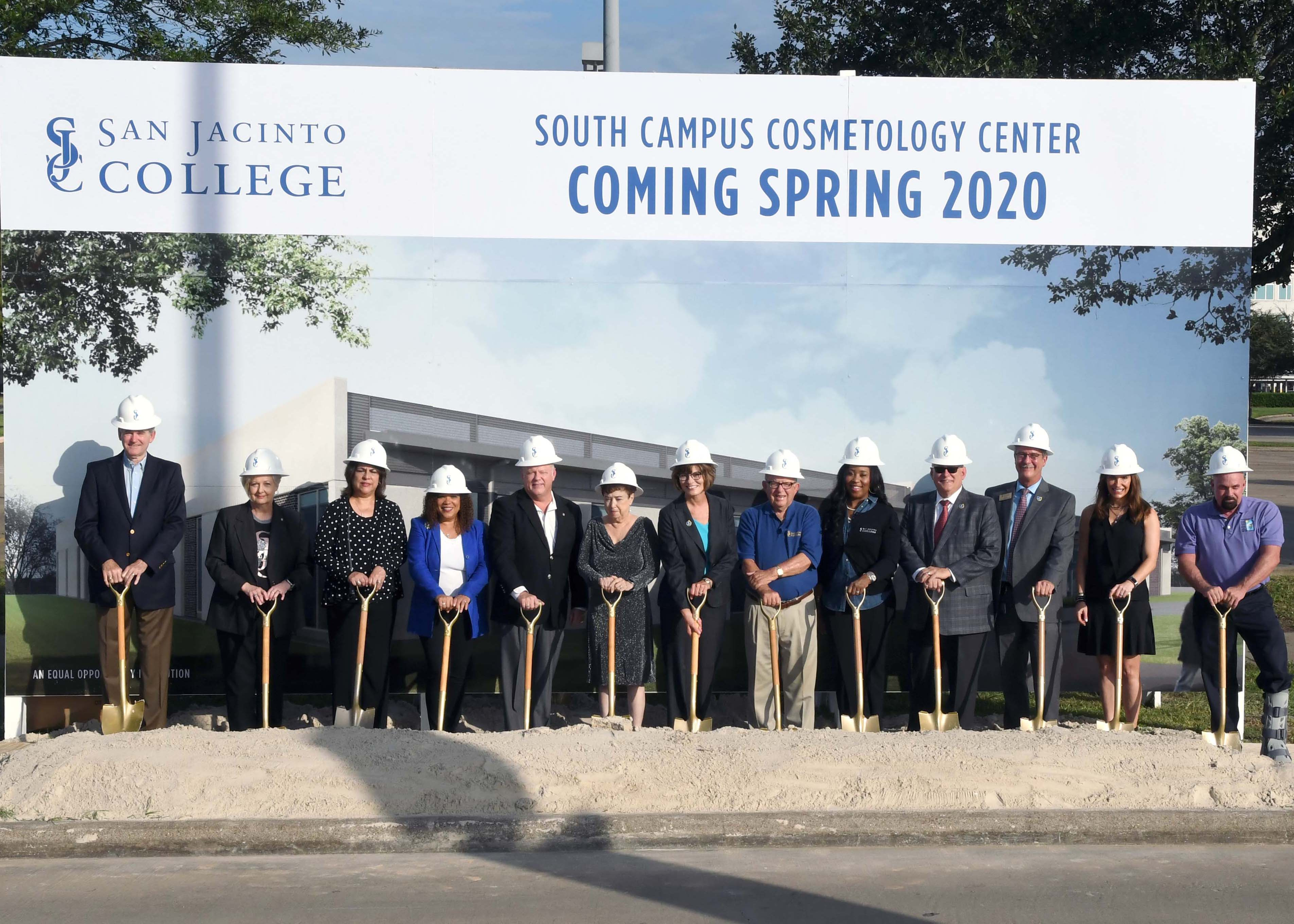 San Jacinto College breaks ground on state-of-the-art Cosmetology Center