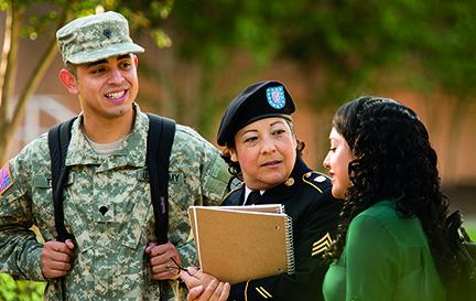 Veteran student initiatives