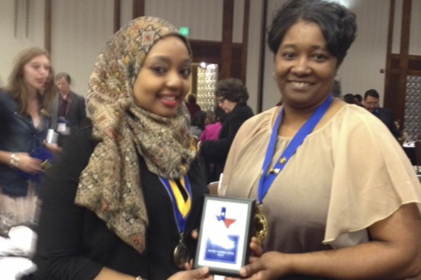 Students receive regional and international awards at PTK conference