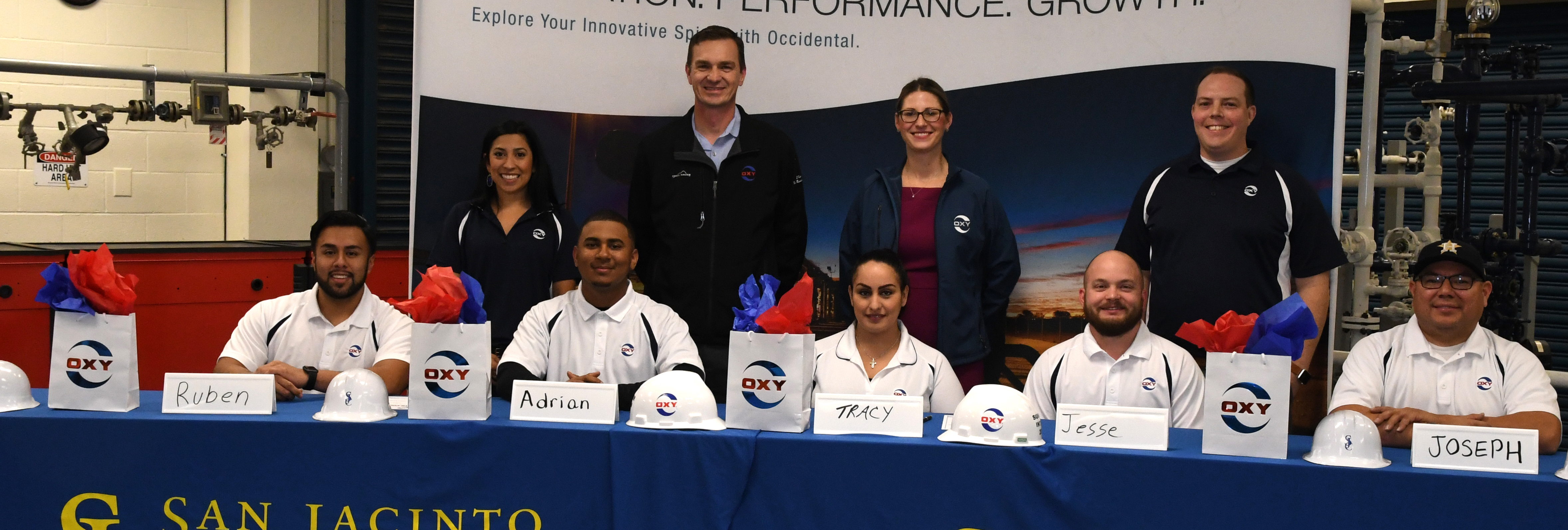 Process technology training pays off with careers at Occidental Petroleum