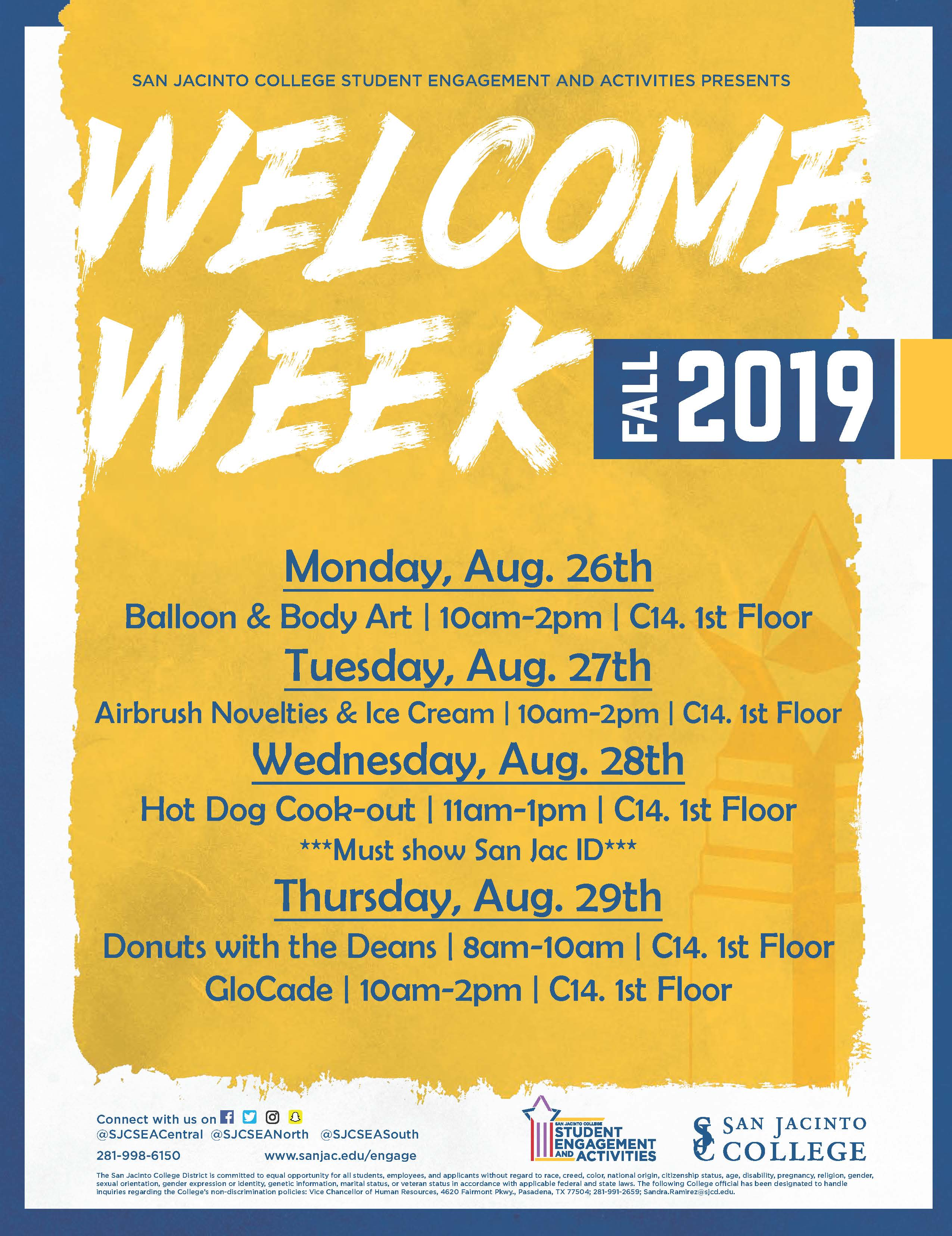 Central Welcome Week