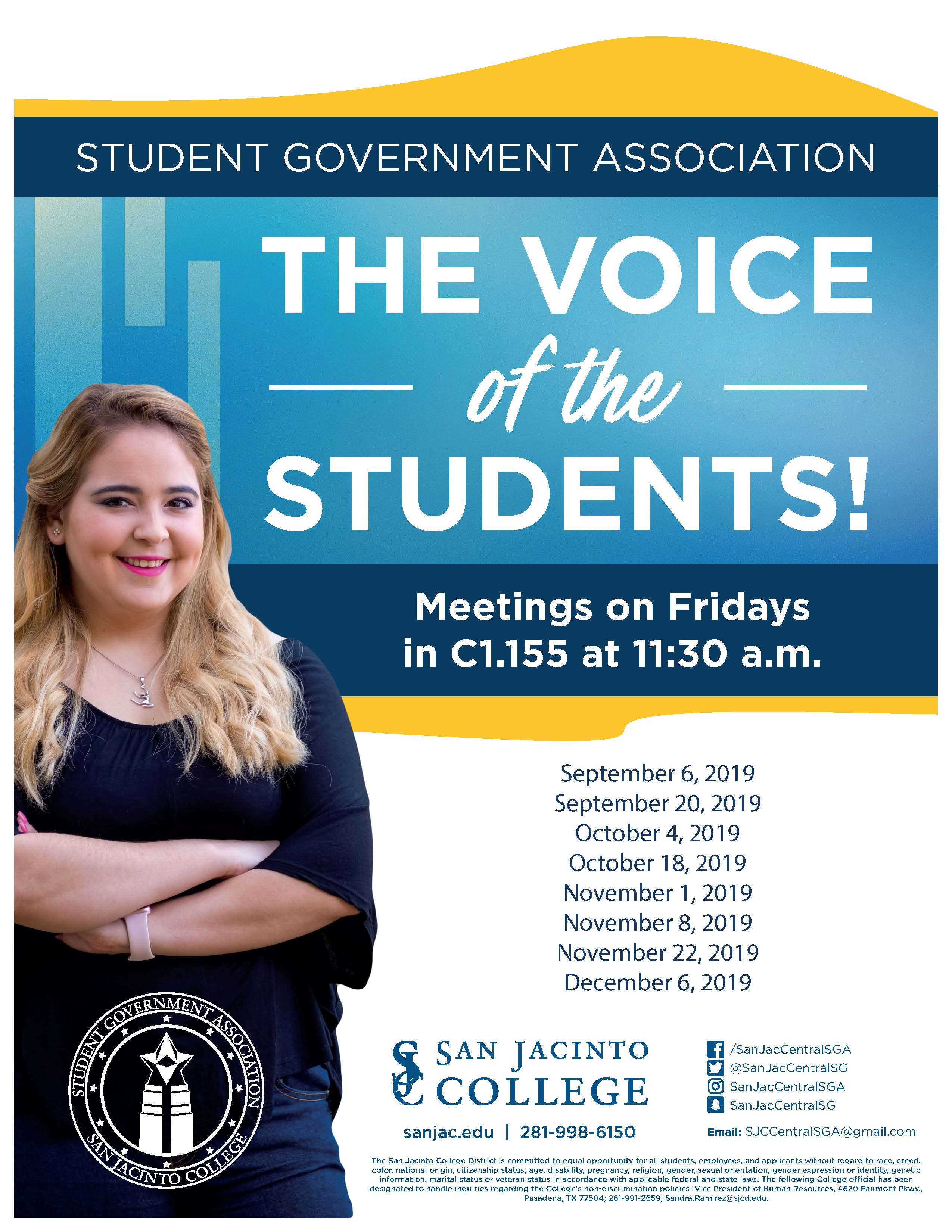 SGA Fall Meetings 2019