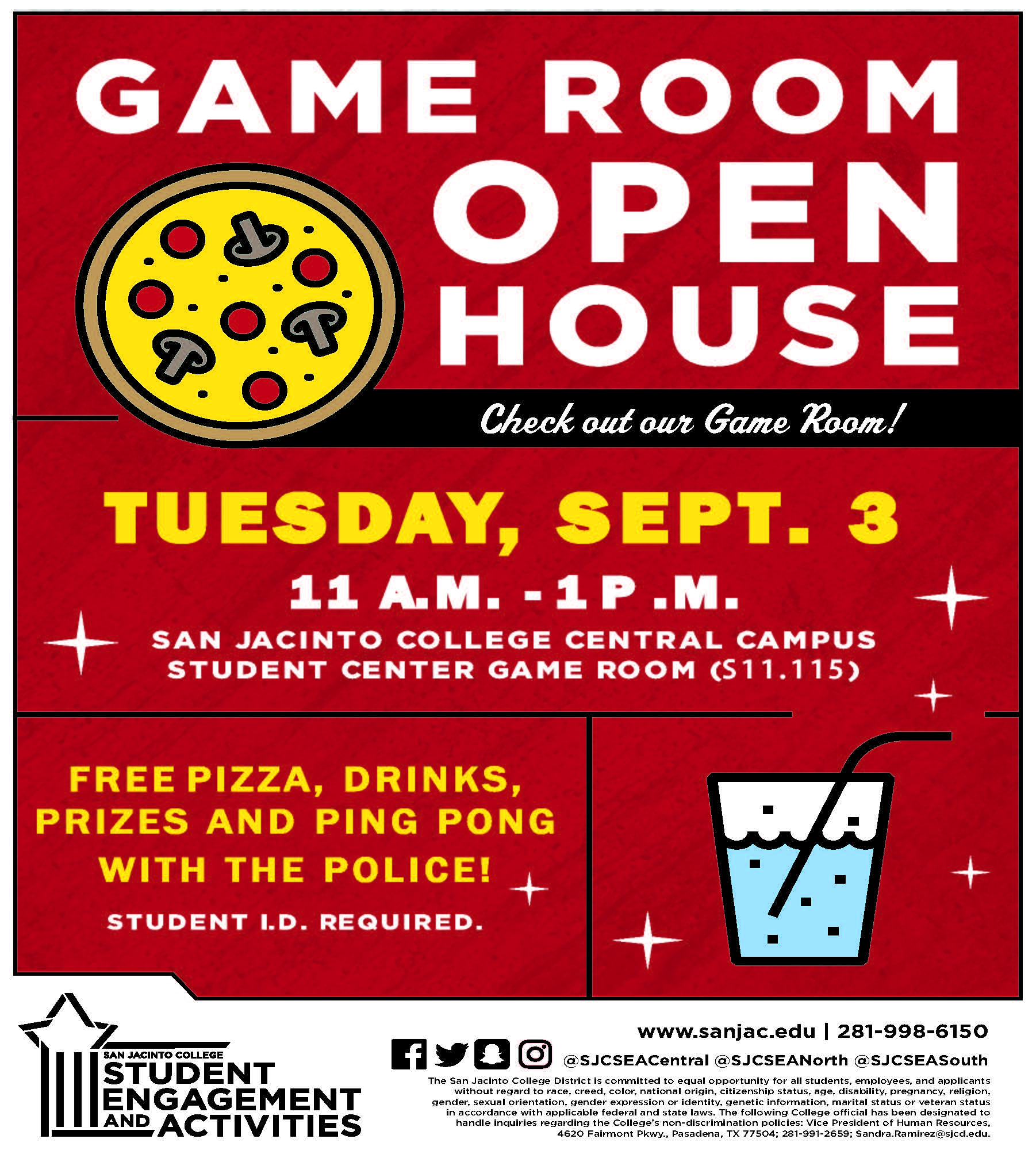 Game Room Open House SOUTH