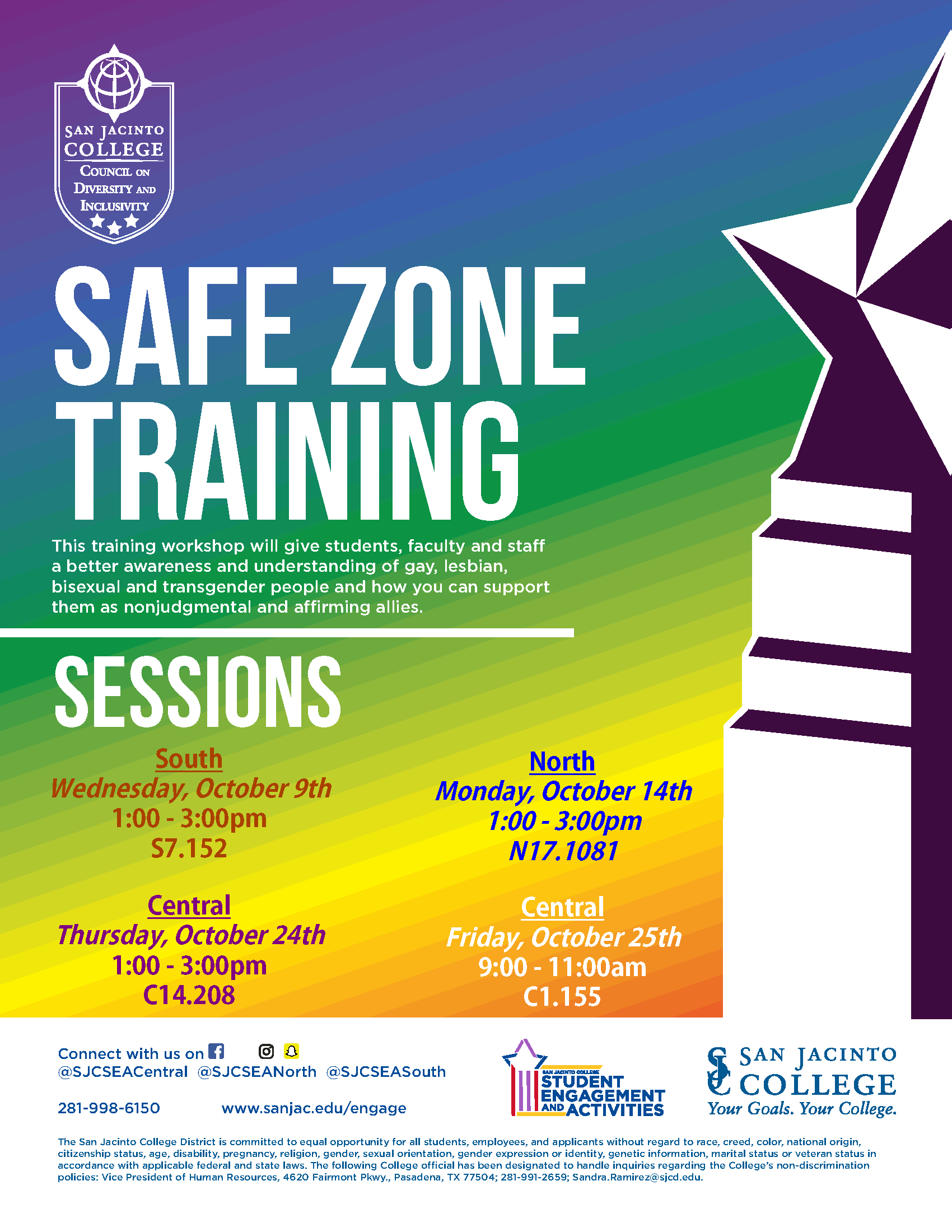 Safe Zone Fall 2019