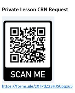 Private Lesson QR Code