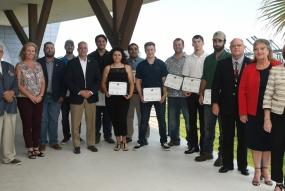 New mariners recognized at Crew Member Ceremony