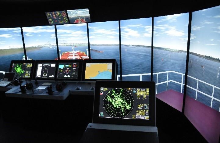 Kongsberg Polaris full-mission bridge simulator1
