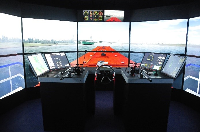 Kongsberg Polaris full-mission bridge simulator2