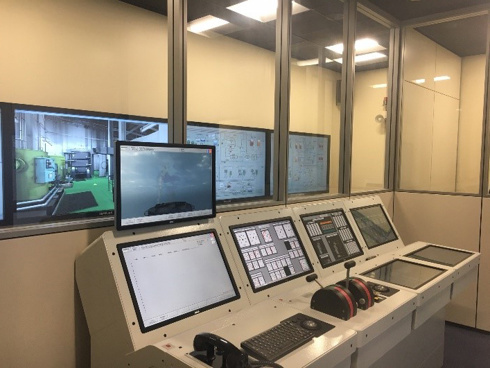 Kongsberg Neptune Engine Room Simulation suite 4
