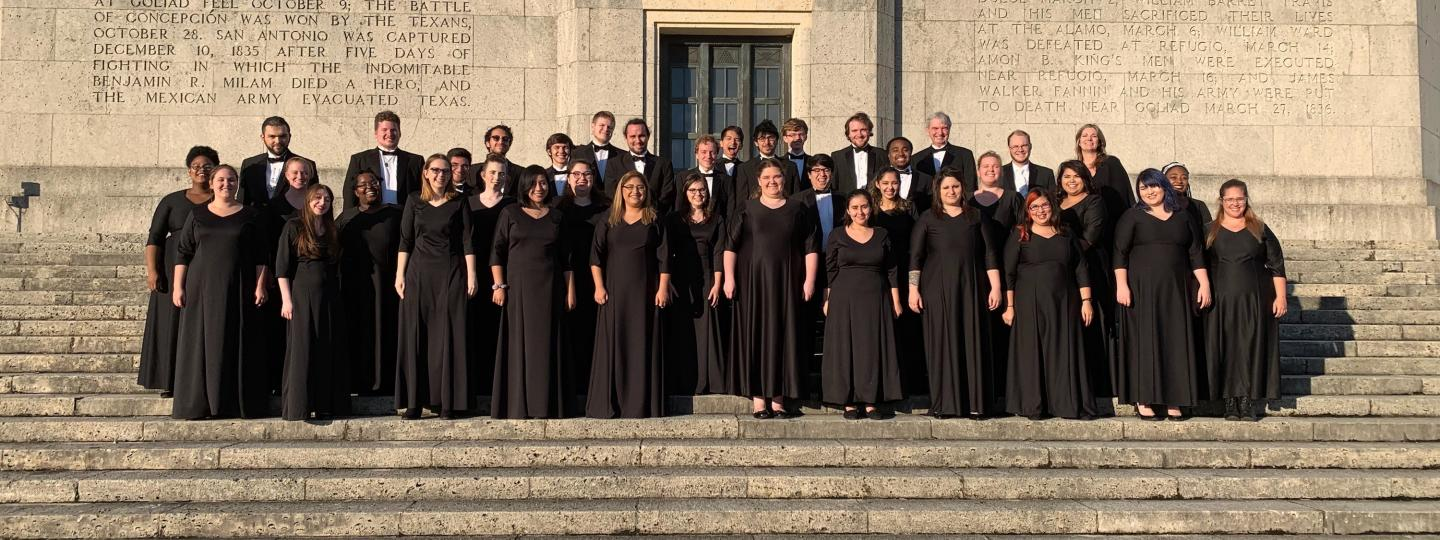 SJCC Choir at San Jacinto Monument