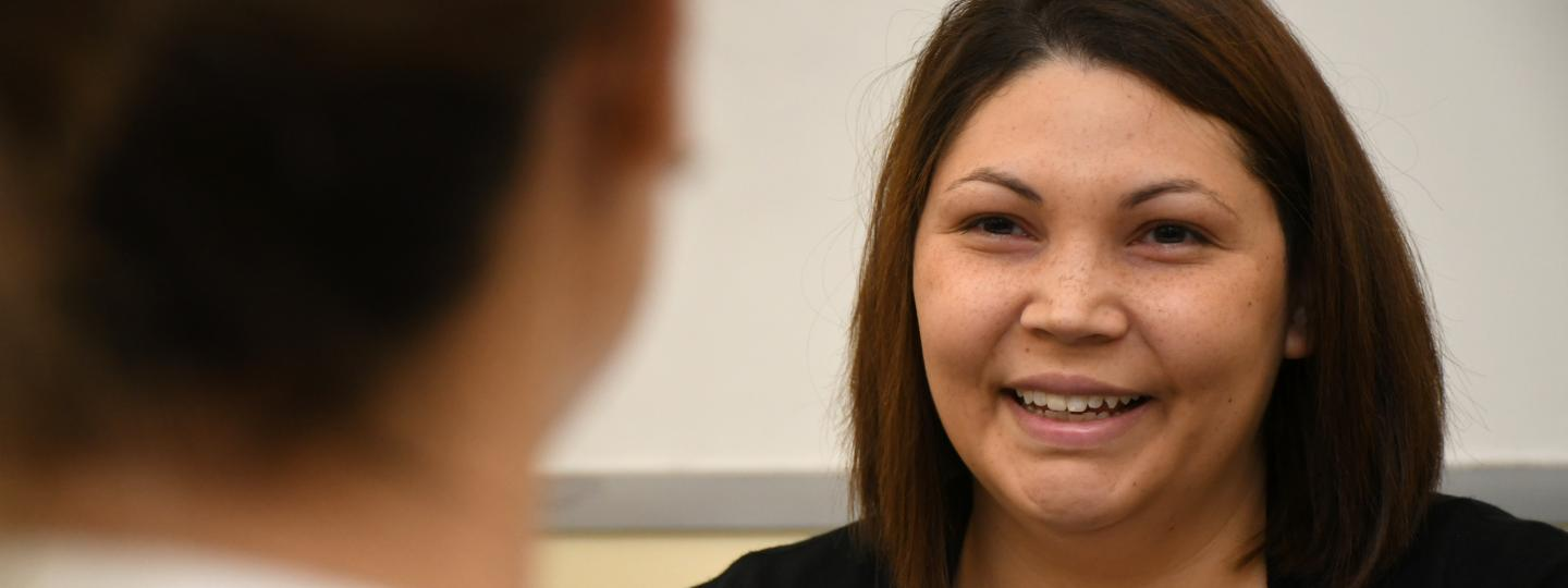 medical assistant students practice to perfect job