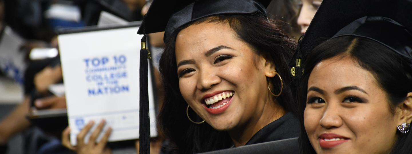 San Jacinto College will hold an in-person commencement ceremony at NRG Stadium in May.