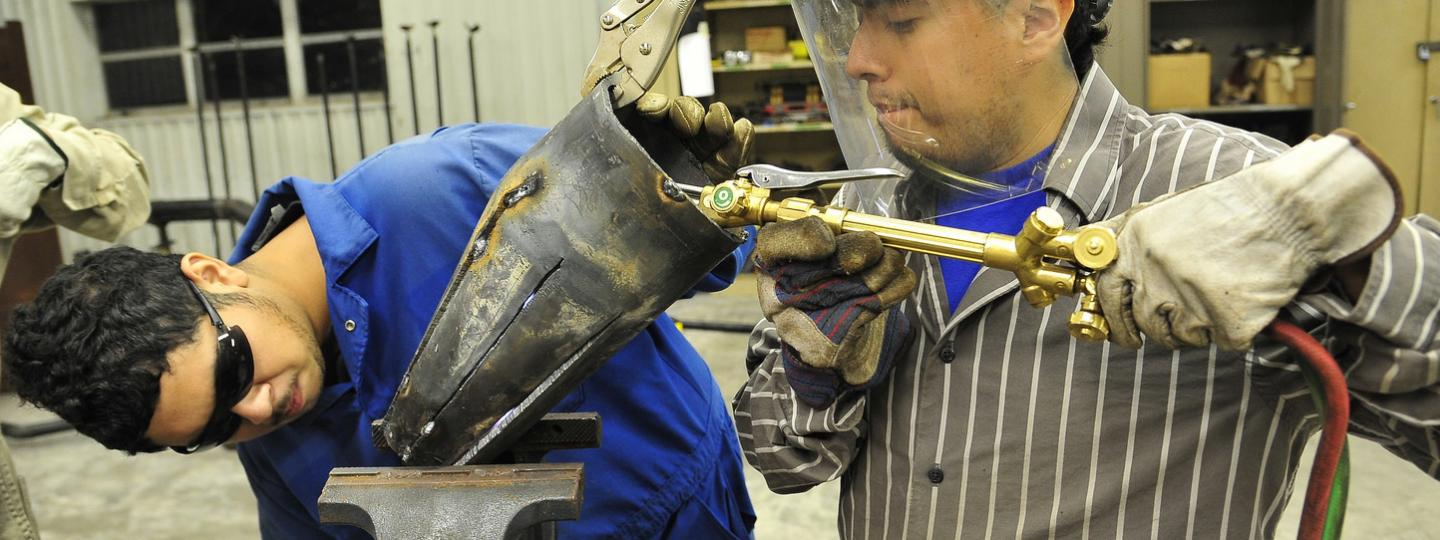 NCCER certified courses available in pipefitting, welding