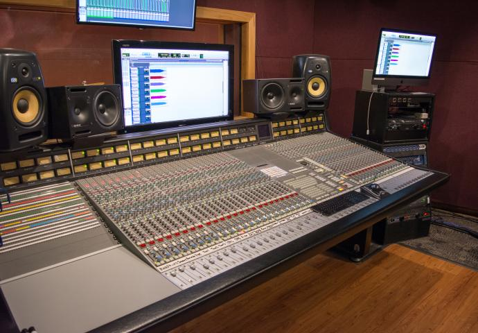 San Jacinto College Central Recording Studio A