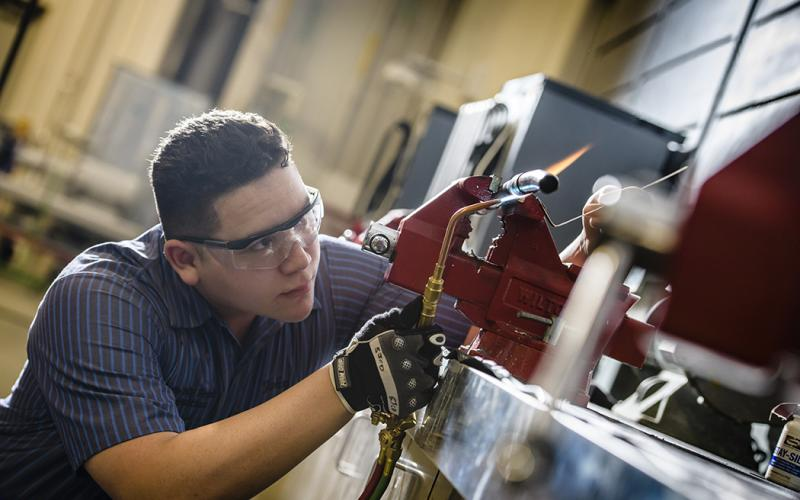 Enter the Workforce through Applied Trades article