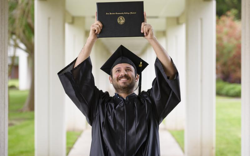 San Jacinto College will hold in-oerson commencement ceremonies on May 15.