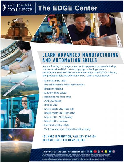 Advanced Manufacturing And Automation Skills