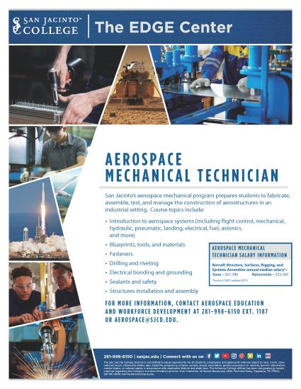 Aerospace Mechanical Tech