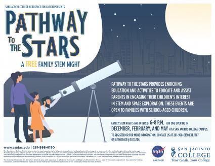 Pathways to the Stars Family Night