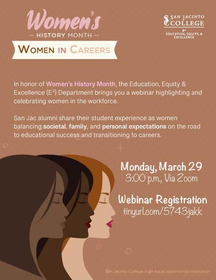 Women's History Month Women in Careers