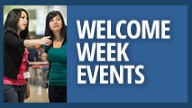 Welcome Week Events