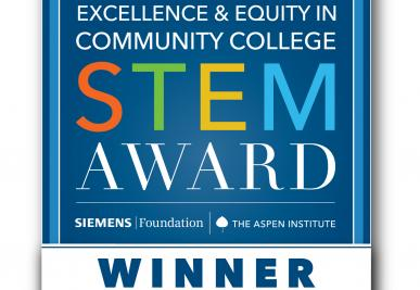 Aspen Institute College Excellence Program and the Siemens Foundation Excellence and Equity in Community College STEM Award