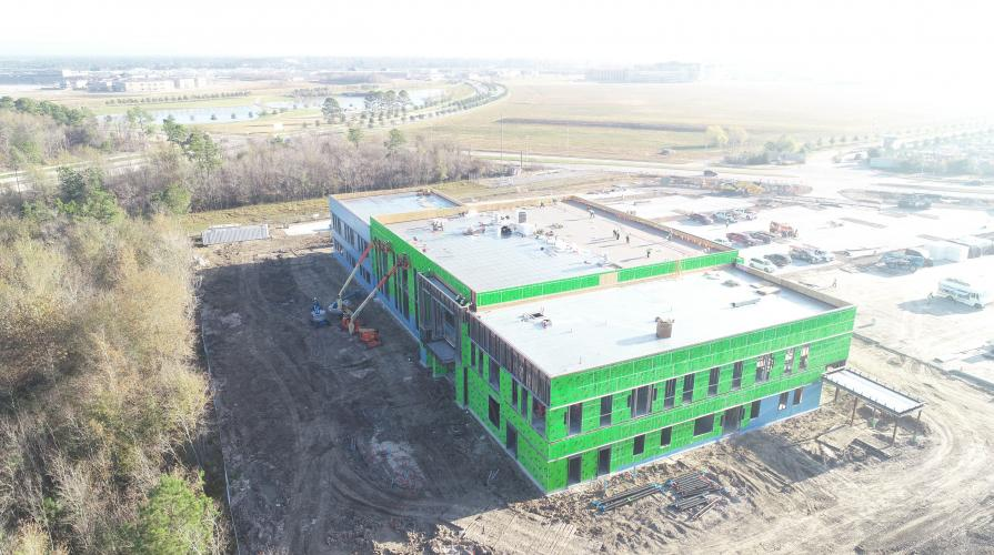 generation park campus construction photo aerial 5