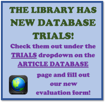 New Database Trials